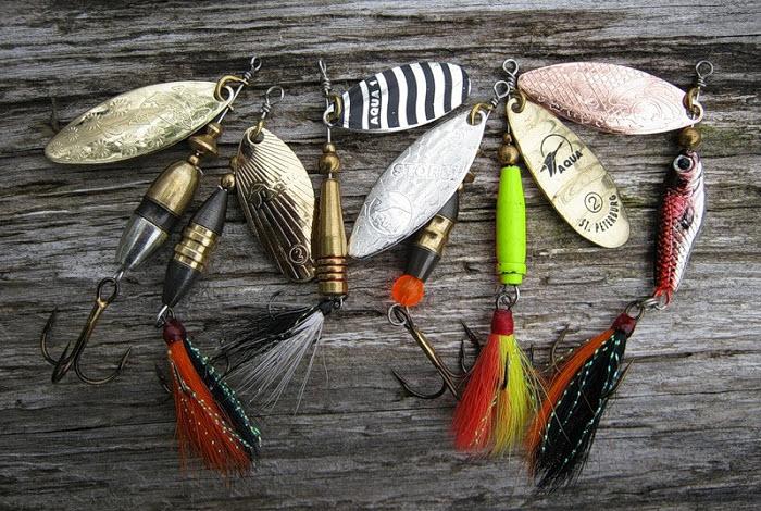 Спиннинговые блесны: виды и особенности ловли