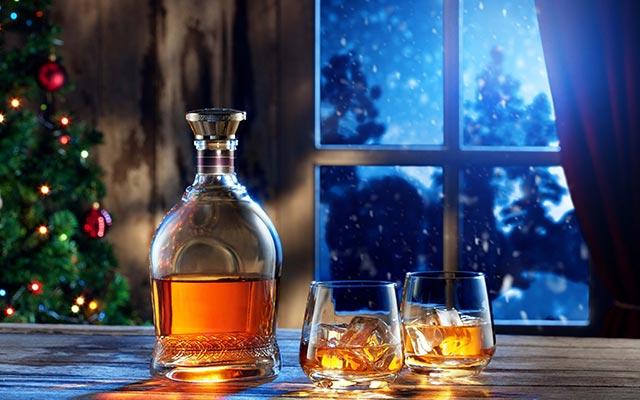 Алкогольные напитки к новогоднему столу