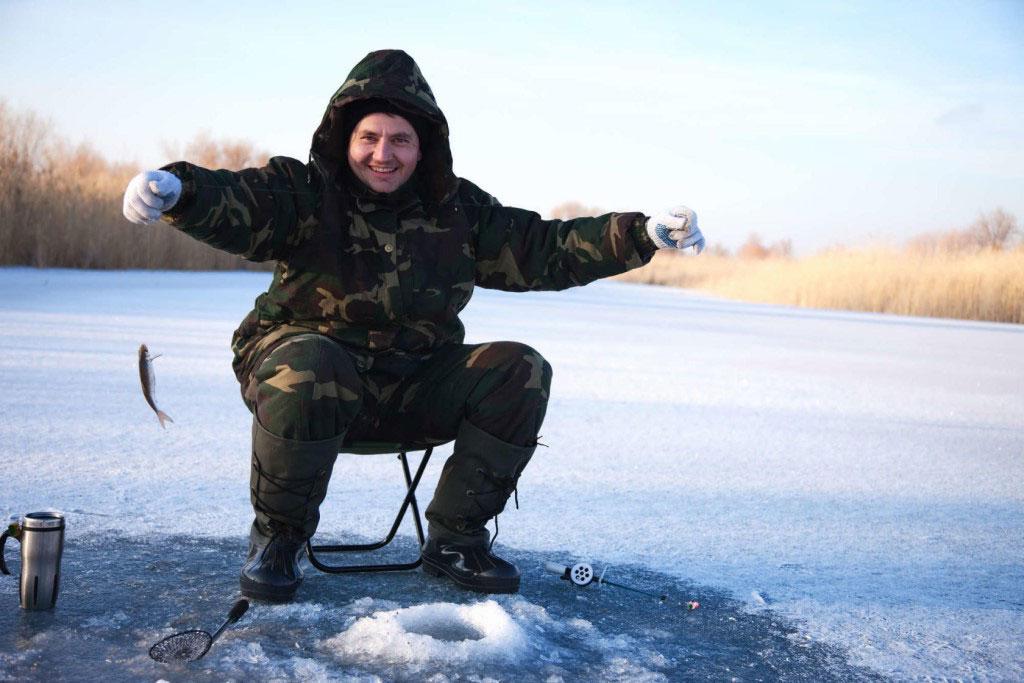 Безопасность на зимней рыбалке