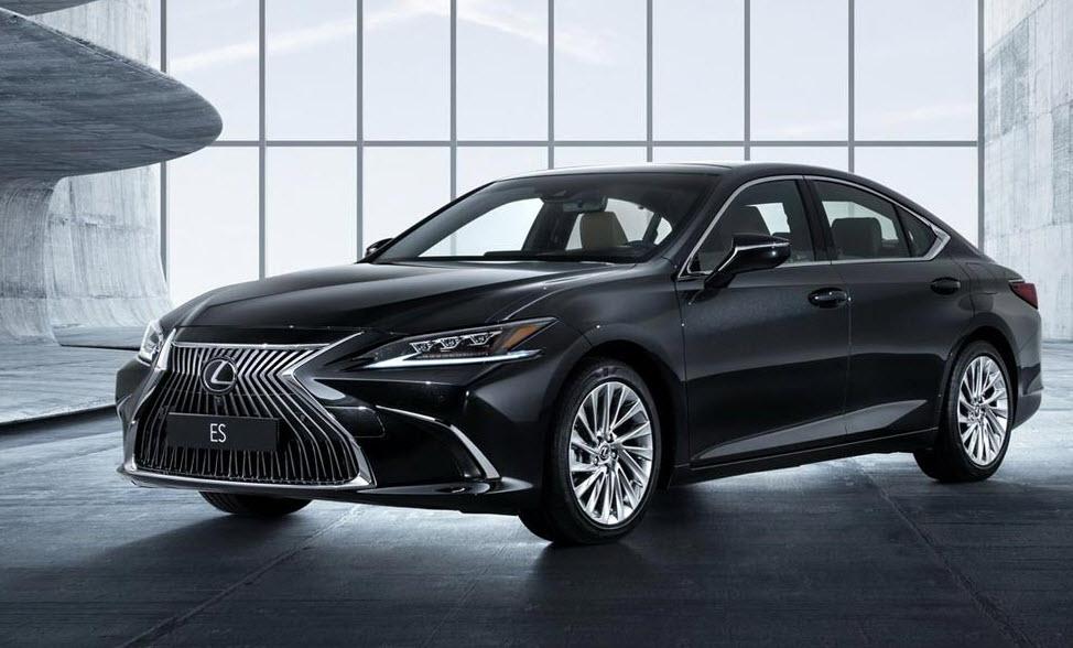 Новый седан Lexus ES 2019 года, фото, характеристики