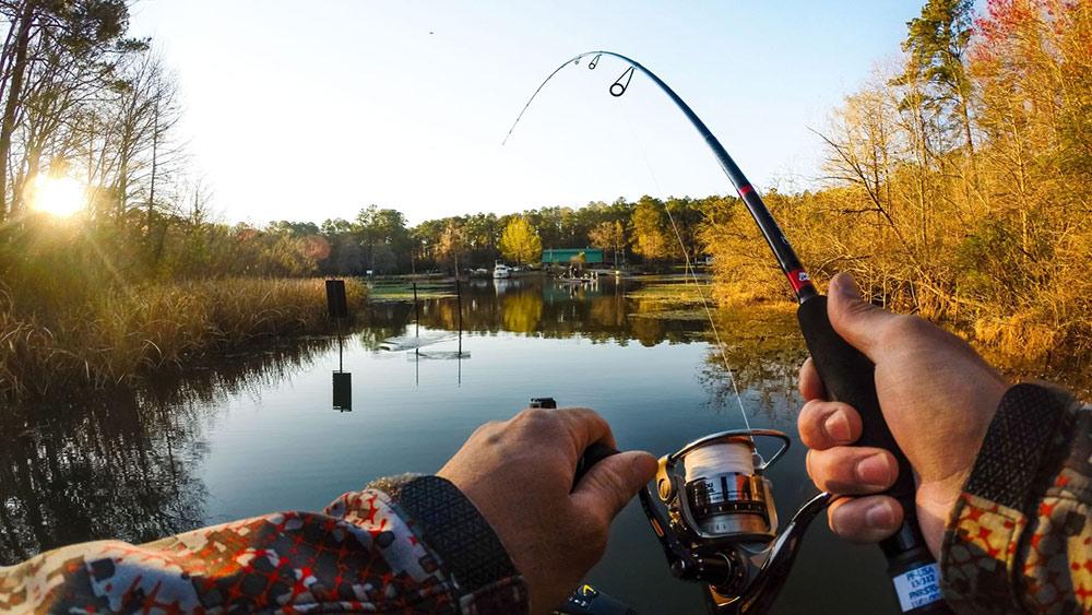 Правильное применение рыболовной снасти