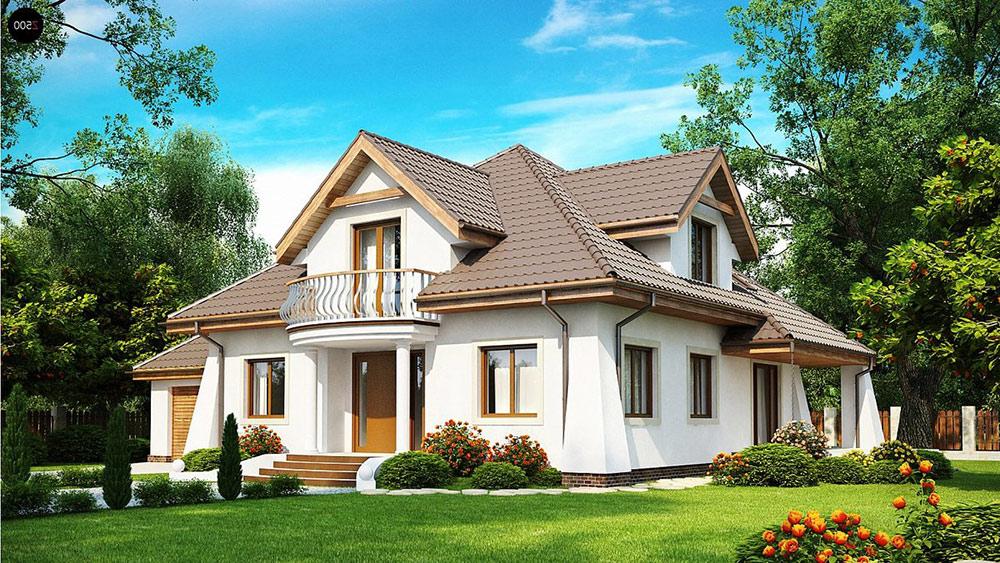 Проекты домов с мансардой от профессионалов: продуманная экономия