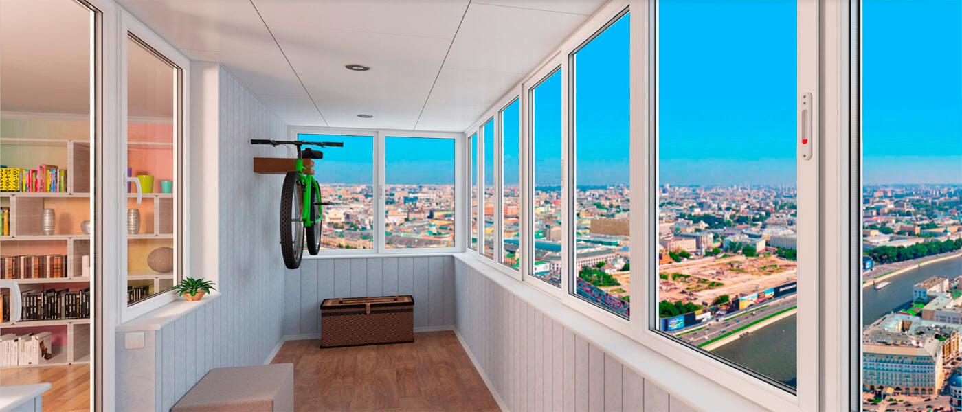 Профессиональное остекление балкона: гарантия комфорта и тепла в доме
