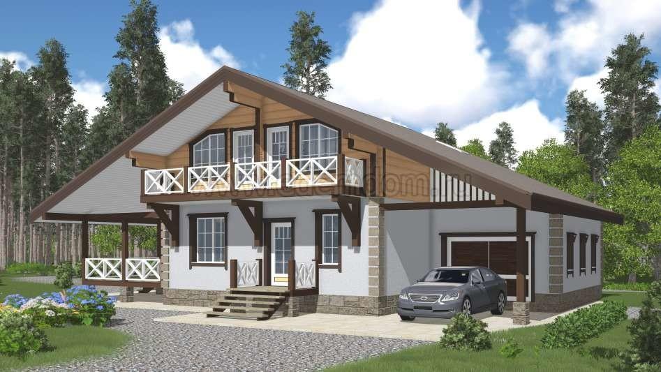Дом шале: преимущества стиля и выбор материала