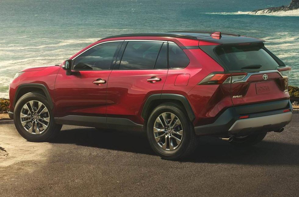 Новый Toyota RAV4 2019-2020 года, фото и видео