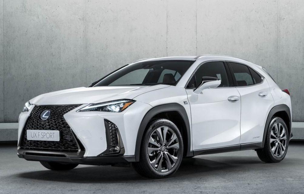 Lexus UX 2018-2019 года, фото и видео