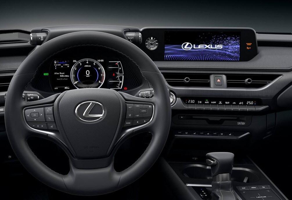 салон Lexus UX 2018-2019 фото