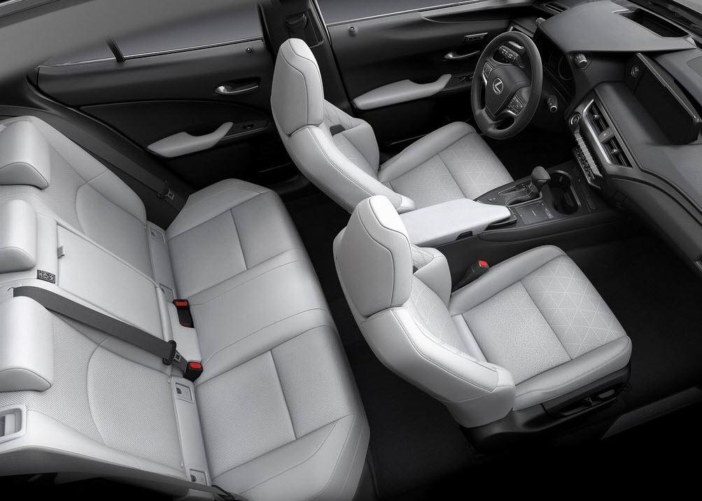 Lexus UX 2018-2019 фото салона