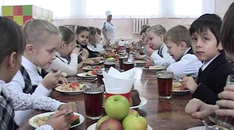 обед в школе