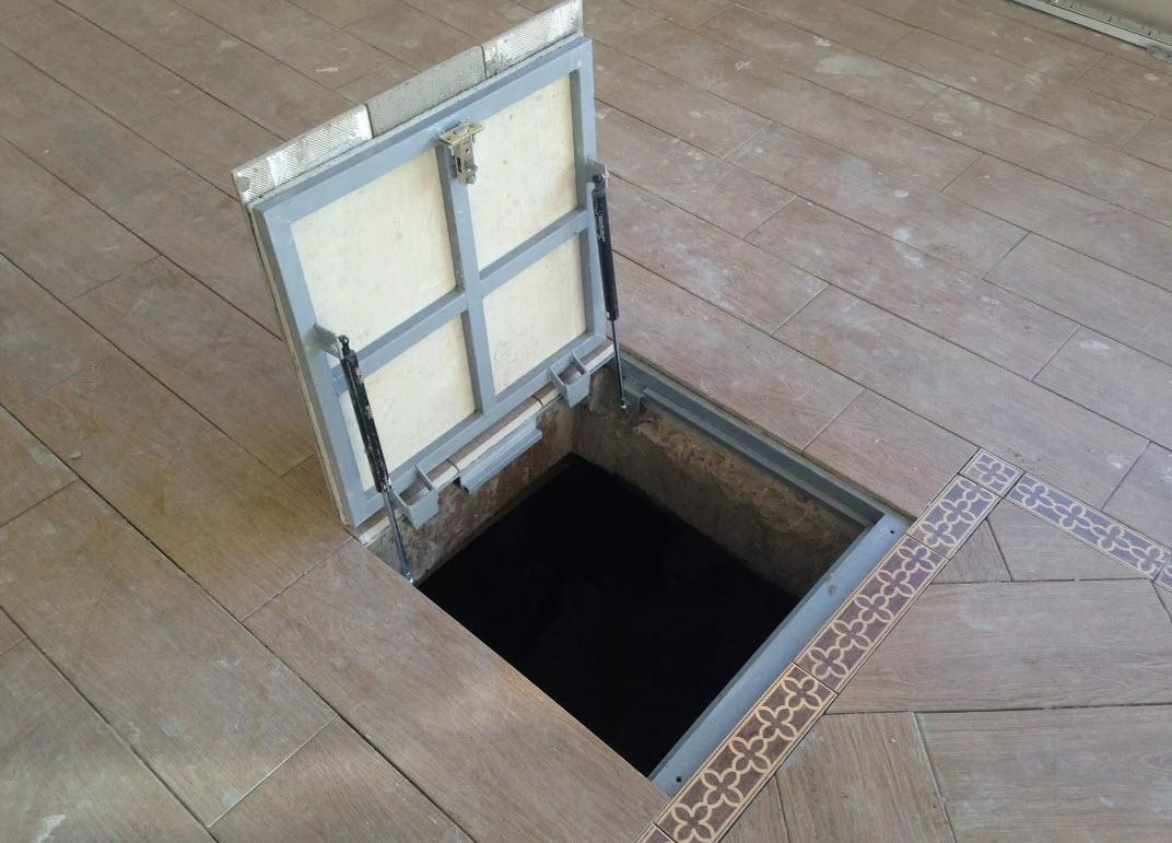 Напольные люки для оформления доступа в подвал