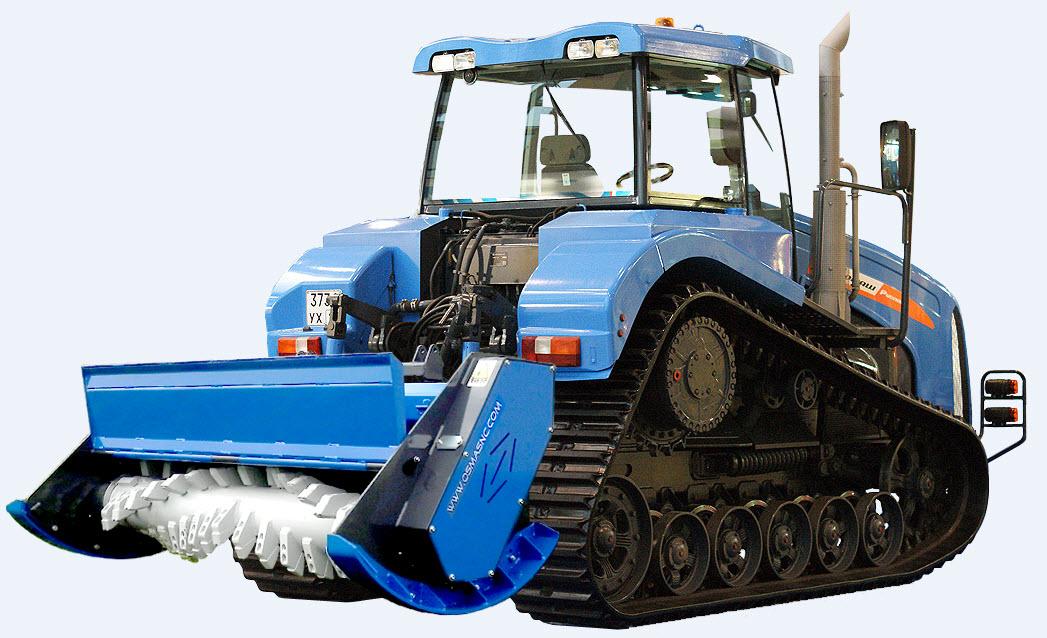Преимущества гусеничных тракторов