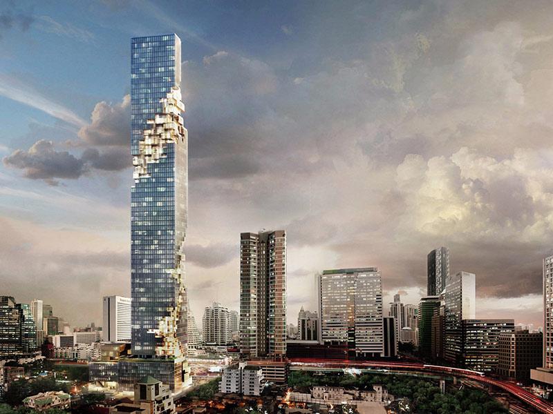 небоскребы таиланда