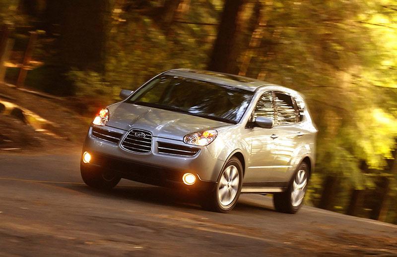 Испытание Subaru Tribeca