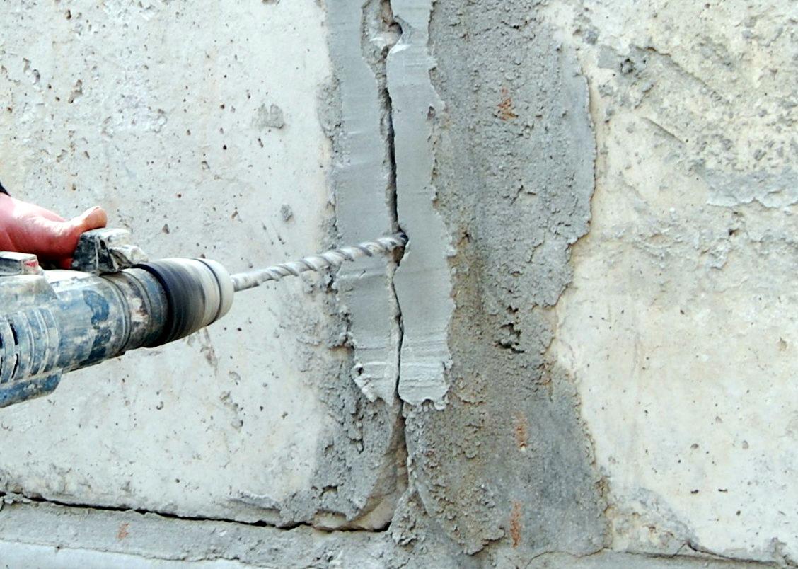 Ремонт бетона: как исправить трещины, не меняя покрытия