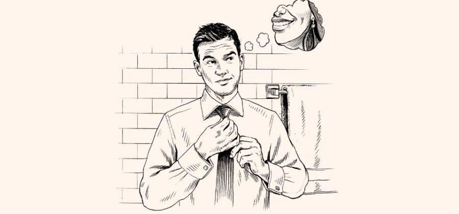 Как самостоятельно завязать галстук